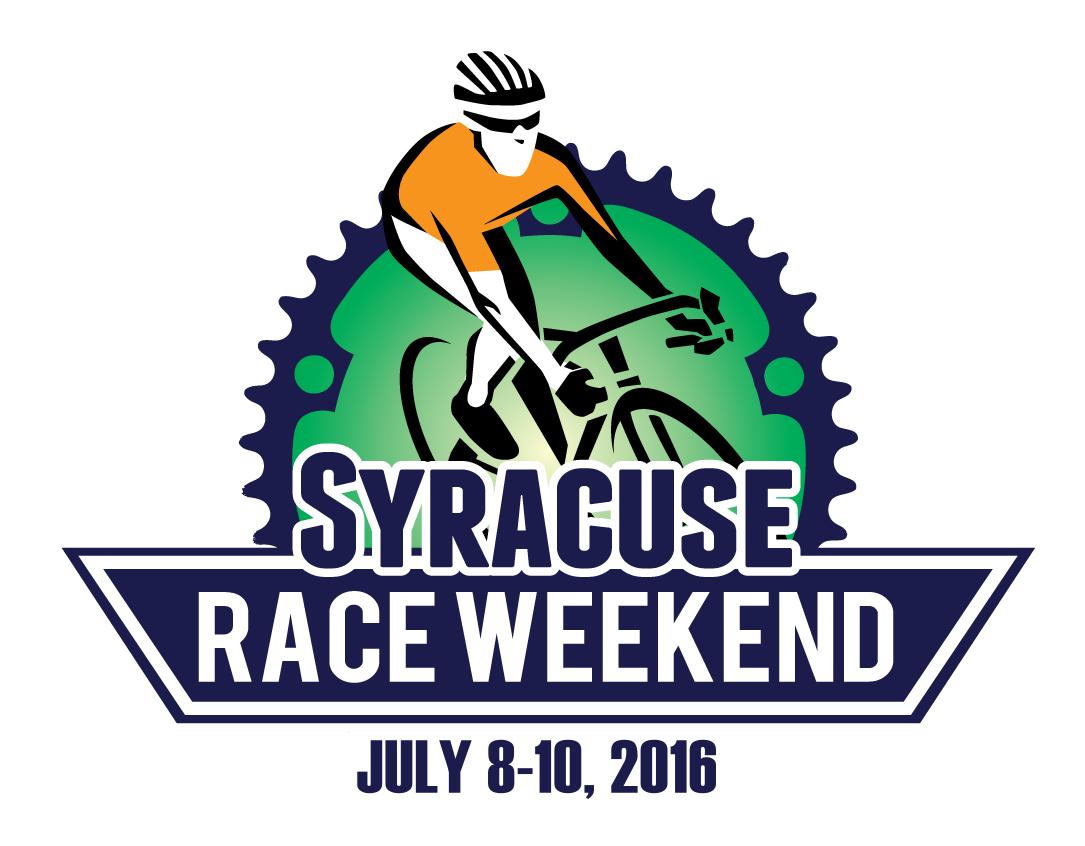 Syracuse Race Weekend Logo - 2016